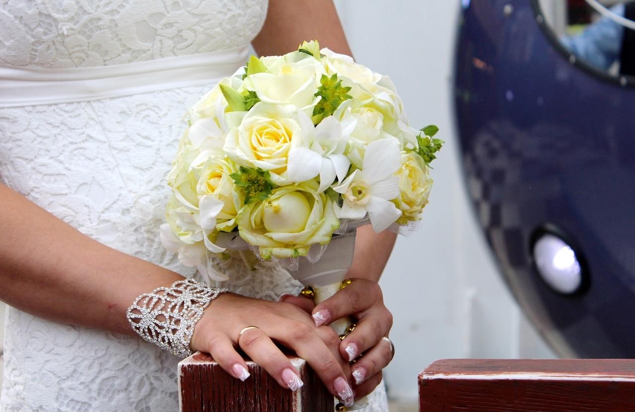 結婚式のネイルをお願いしたネイルサロン